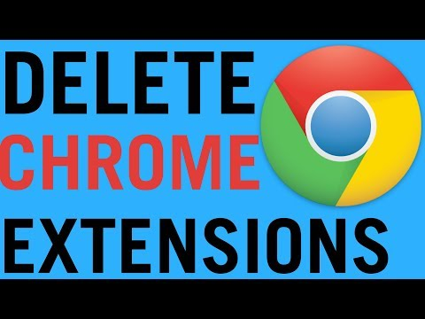 Google Chrome: How To Remove Extensions