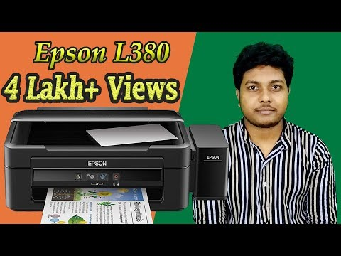 Epson L380 Printer Review | Print Test | Xerox | Scan | Overview