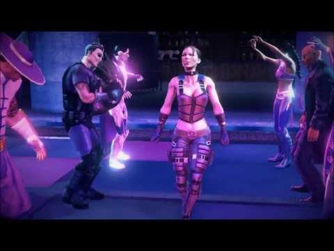 Saints row 4 Dance scene Loyal outfits (ending)