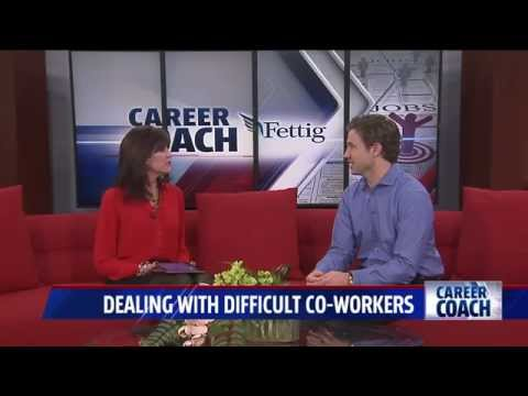 Career Coach on Fox 17 - Dealing with Difficult Co-Workers
