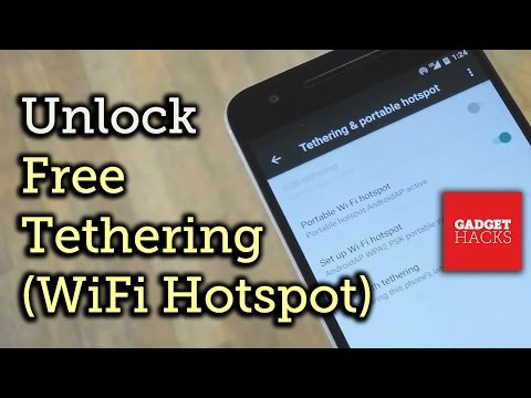 Enable Free Wi-Fi Tethering on Android Marshmallow [How-To]