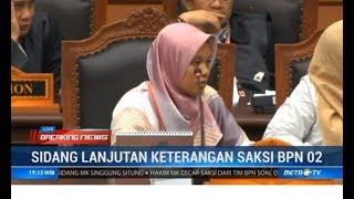 Saksi-saksi Tim Prabowo Kena Skak Hakim di Sidang ke-III MK