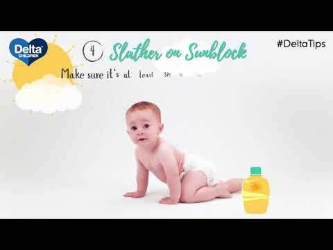 Delta Tips: How To Protect Your Kids in the Sun