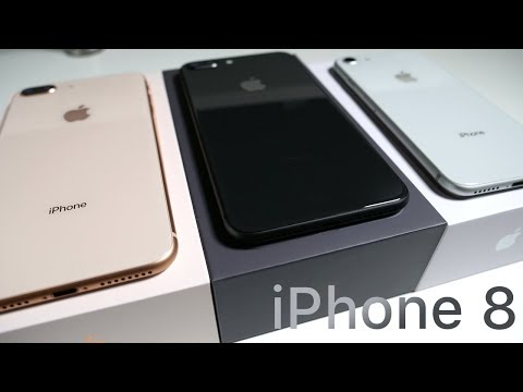 iPhone 8 & 8 Plus Unboxing - Which Color Should You Choose?