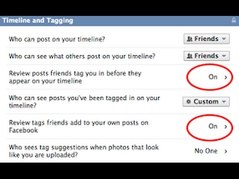 how to manage your facebook timeline settings