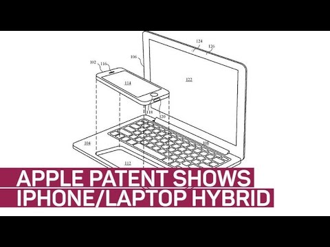 Apple patent application points to iPhone-powered laptop