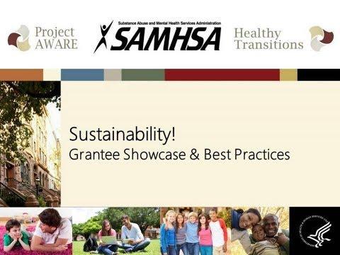 Sustainability! Grantee Showcase & Best Practices