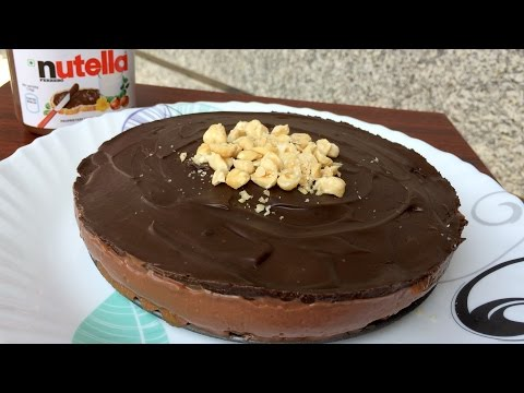 No Bake Nutella Cheesecake (WITHOUT Cream Cheese) | Kitchen Time with Neha