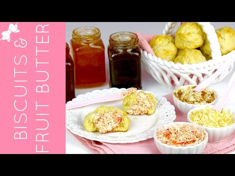 THE BEST Easy Pancake Mix Biscuits with Fruity Butter // Lindsay Ann Bakes