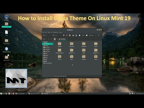 How To Install Canta Theme on Linux Mint 19