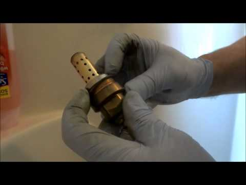 symmons tub shower valve leaking badly fixed:plumbing tips