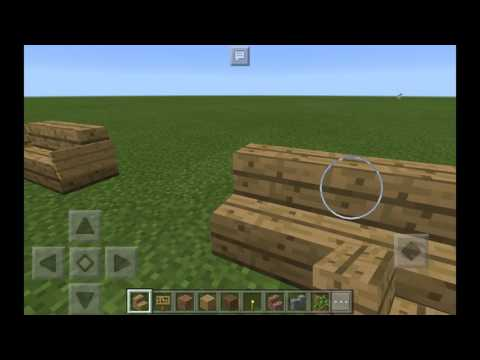 How to make a bench in minecraft