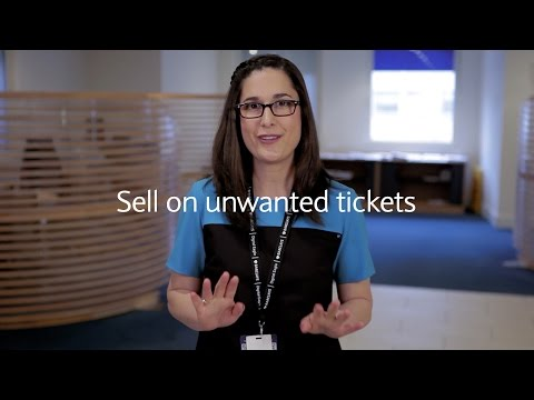 How to save money online: Sell on unwanted tickets