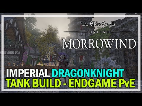 Imperial Dragonknight Tank Dungeons & Trials Build - ESO Morrowind