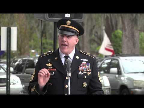 Iraq Veterans Memorial Dedication