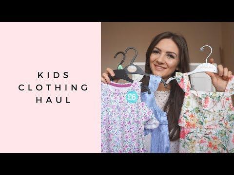 HUGE TODDLER GIRLS SUMMER CLOTHING HAUL 💗 NEXT, ZARA, F&F CLOTHING, PRIMARK, MATALAN | KIDS HAUL