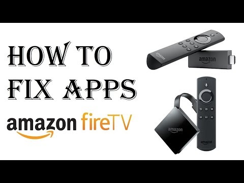 How to Fix Amazon Fire Stick TV - How to Work Unfreeze Frozen Fire Stick - Launch Reboot Reset App