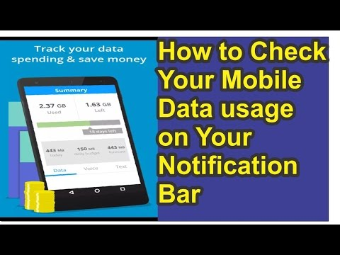 How to Check Mobile/Wifi Data Usage on Mobile | Urdu