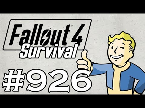 Let's Play Fallout 4 - [SURVIVAL - NO FAST TRAVEL] - Part 926 - Doggo Disappearance