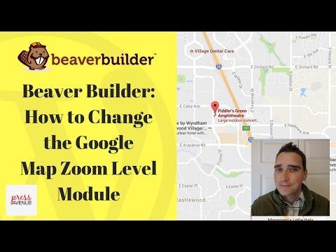 Beaver Builder: Change Google Map Zoom Level Module in WordPress - Press Avenue