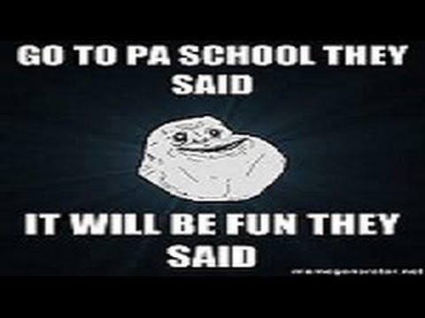 How hard is PA school