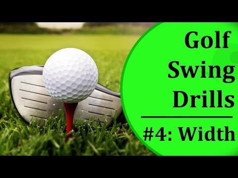 Simple Golf Swing Drills For Beginners - #4: Swing Width | Learn-To-Golf.com
