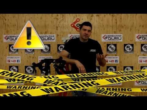 Kerékpár tisztítás, karbantartás - Kosz távozz...