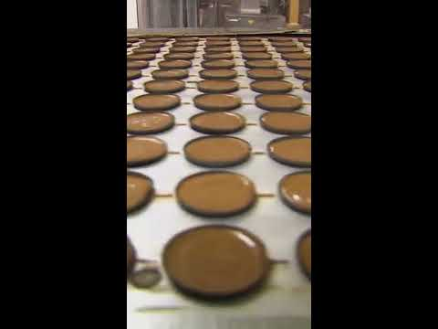 See How Peanut Butter Cups Are Made behind the