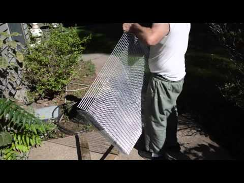 Rabbit Cage Build Cutting & Bending Wire