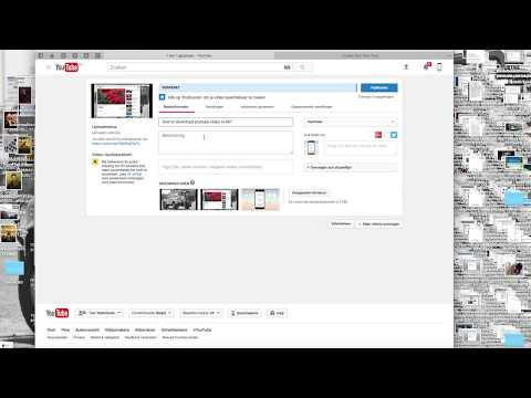 how to upload a video to youtube?