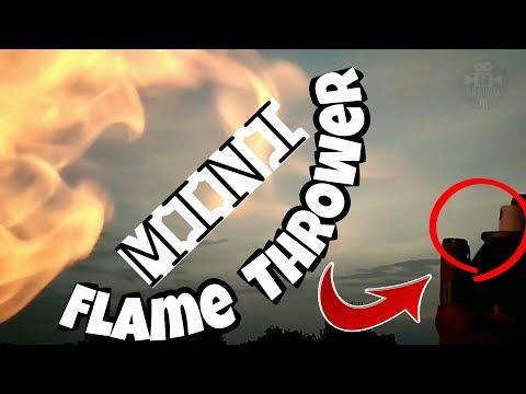 DIY Mini Flame Thrower