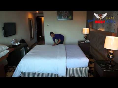 Making Bed - Grand Rocky Hotel