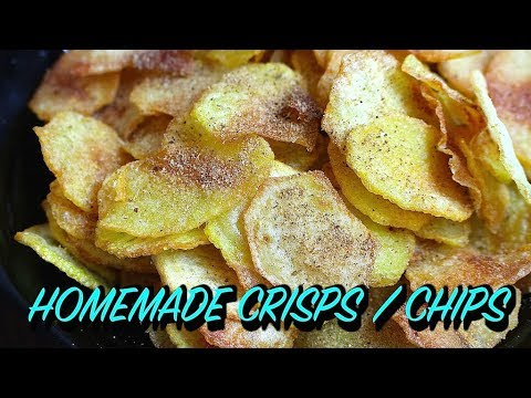 HOMEMADE CRISPS / CHIPS *COOK WITH FAIZA*