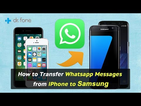 How to Transfer Whatsapp Messages from iPhone to Samsung