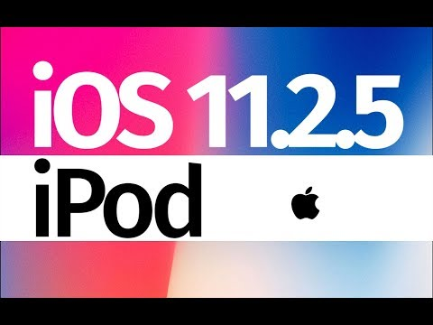 How to Update to iOS 11.2.5 - iPod