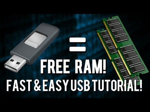 Add More RAM To Your Computer Using This SIMPLE TRICK! | USB RAM -