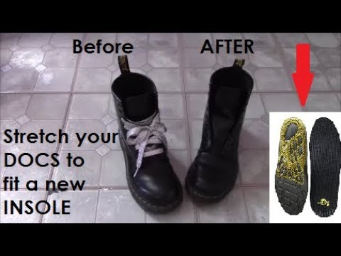 Stretch Your Docs to Fit a PREMIUM Insole!