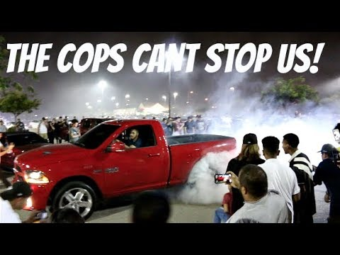 CRAZY Street Drifters Take Over The City! ( Cops Failed )