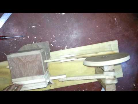 Homemade Wooden Air Engine