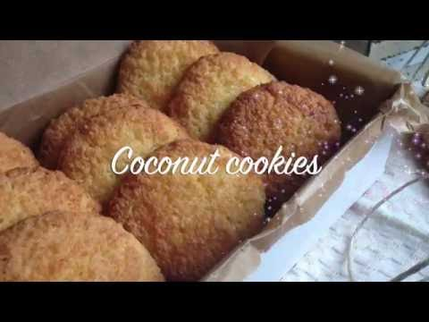 Coconut cookies | Easy recipe - super tasty cookies - How to make delicious cookies by chefkochin
