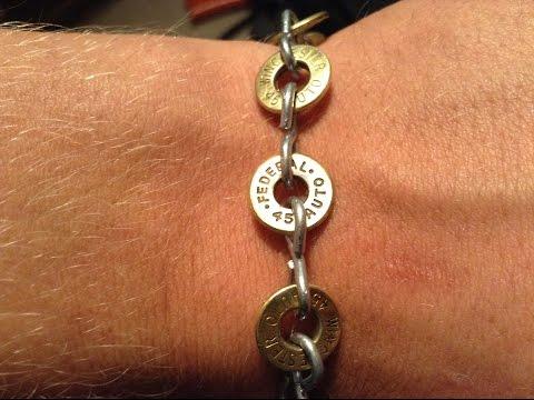 Gun Shell Bracelets