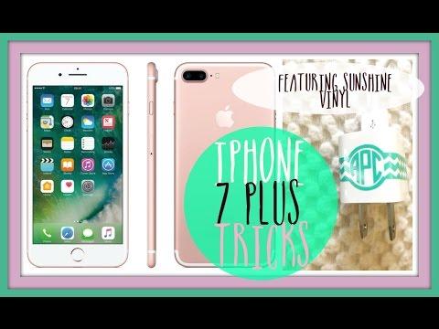 Iphone 7 Plus Tricks & Etsy's Sunshine Vinyl!