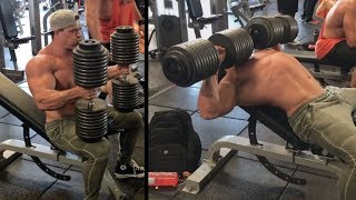 Brad finally uses Real Weight instead of Fake Weights