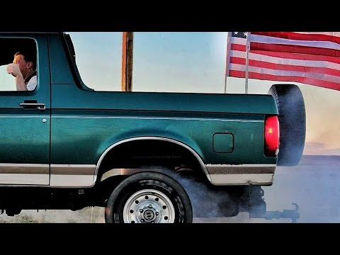 408 Stroker Ford bronco burnouts and street racing