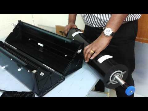 How to Set up film in KATANA SCREEN LD-M1050 CTF (Image Setter) Developing Machine -Full