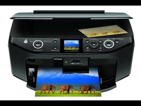 Epson RX-595 - HOW TO CLEAN PRINTHEAD