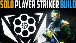 The Division   My Solo Player PvP Striker Build   Patch 1.8