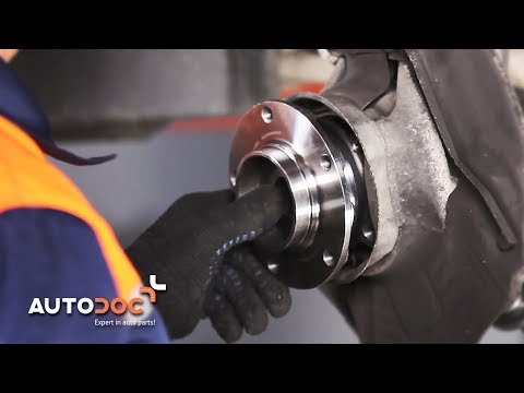 How to replace front wheel bearing BMW 5 E39 TUTORIAL | AUTODOC