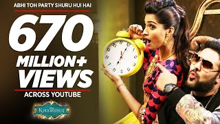 'Abhi Toh Party Shuru Hui Hai' FULL VIDEO Song | Khoobsurat | Badshah | Aastha