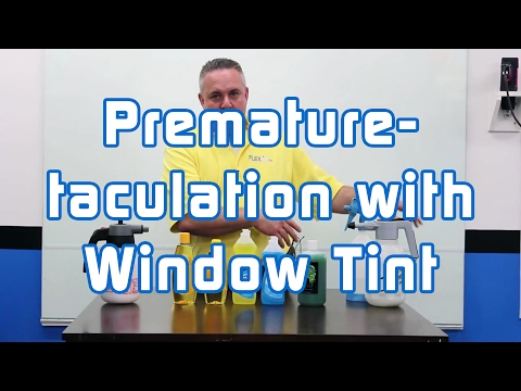 Premature-taculation with Window Tint
